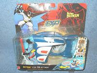 2006 MATTEL THE BATMAN EXTREME POWER ZIG ZAG ATTACK VEHICLE W/ ACTION FIGURE NEW