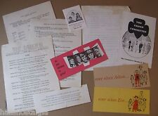 1956-1957 Girl Scouts Brochures Booklets Arlington Ma.