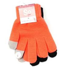 Winter So Mercy Kids Gloves Girls 2 Pair Combo Touchscreen Glove 1 Size NEW 8972