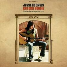 JESSE ED DAVIS (GUITAR) - RED DIRT BOOGIE: THE ATCO RECORDINGS 1970-1972 * USED