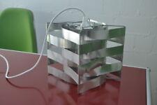 Original signed Vintage Max Sauze Studio France Cube Lampe Design