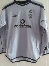 Manchester United 2001-2002 Goalkeeper Football Shirt Large Boys /39585