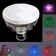 4 LED Floating Underwater Disco Light Glow Show Swimming Pool Hot Tub Spa Lamp