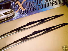 """IVECO / FORD CARGO NEW TRUCK WIPER BLADES. 26"""" X 26""""X 9 and 12mm HOOK"""