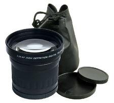 58mm 3.5X TELE Telephoto Lens for Nikon D7100 D5100 D3300 D3100 D90 Canon 1100D