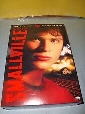 Smallville Season 2 DVD 6-Disc Set Superman DC Comics Near Mint Collection