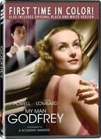 MY MAN GODFREY (DVD, 2008) William Powell, Carole Lombard  1936 Film  SEALED