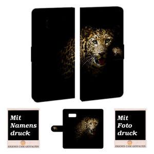 Personalisierte Handy Hülle für Samsung Galaxy Note 8 mit Leopard Bild Druck
