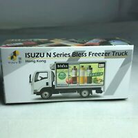 1/64 TINY Hong Kong CAR 47 - Die-cast Truck ISUZU N Series Bless Freezer