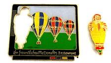 "Globo ""Special shape"" pin/Pins-McDonald rompecabezas/F-gigo 2 pins!!!"