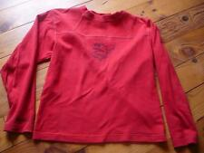 T-Shirt Rip Curl 12 Ans Rouge Manches Longues