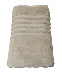 Hotel Collection Bath Towel Natural OAT Taupe Brown 100% Micro Cotton