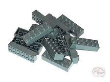 LEGO - 13 x Bricks - 2x6 - Dk Blu Grey - (10937, 10227, 10181, 10188, 10237)