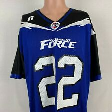 Russell Athletic Troy Bergeron Georgia Force Jersey Vtg AFL Arena Football L