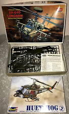 HELICOPTER MODELS NEW-IN-BOX PAIR REVELL HUEY-HOG LONGBOW ACADEMY ATTACK AWESOME