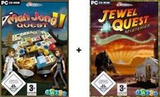 Jewel quest mysteries 1 + Mah Jong quest 2 comme neuf
