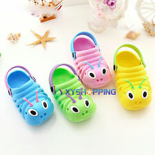 Baby Kid Slip On Sandals Beach Crogs Flats Shoes Boy Girl Casual Slippers Summer