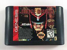 Judge Dredd (Sega Genesis, 1993) Cartridge Only TESTED WORKING Good Condition