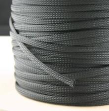 Gewebeschlauch Geflechtschlauch PET Isolierschlauch Kabelschutz Kabelschlauch