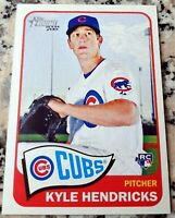 KYLE HENDRICKS 2014 Topps Heritage RARE Rookie Card RC 2016 WS Champs HOT $$$