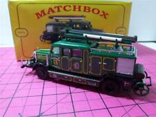 Matchbox Yesteryear~MILITARY~YFE 07/SA~1938 M. BENZ KS15 FIRE TRUCK~OBENDORF~MIB