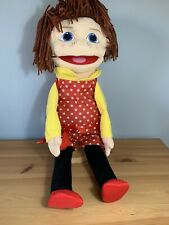 THE PUPPET COMPANY PUPPET BUDDIES MEDIUM GIRL HAND PUPPET 55CM
