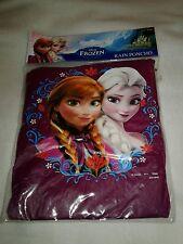 New Youth Disney Frozen Rain Pancho Purple