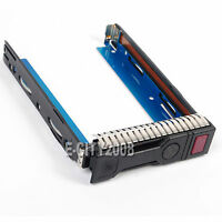 "3.5"" SAS SATA SSD Hard Drive Tray Caddy For HP Proliant DL360E Gen8 G8 /IC Chip"
