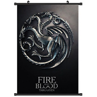 Game of Thrones Anime HD Canvas Print Wall Poster Scroll Home Decor Cosplay