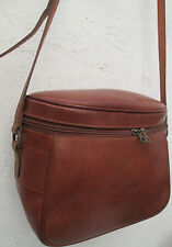 -AUTHENTIQUE sac à main EL GAZER  cuir TBEG vintage bag