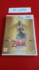 THE LEGEND OF ZELDA SKYWARD SWORD EDITION LIMTEE WII NINTENDO NEUF VF