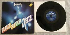 Nazareth - Razamanaz RARE GER Press Rock LP Philips