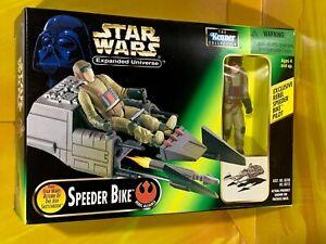 Star Wars - Expanded Universe - Speeder Bike with Pilot