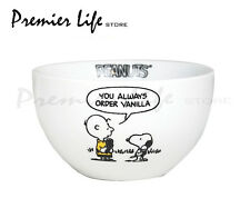 "Snoopy ""I'm A Purist""  Ceramic Bowl - Peanuts Cereal / Breakfast Bowl"