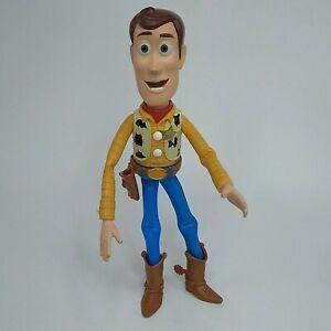 "Disney Pixar Toy Story Poseable Woody  2017 Mattel 9"" Tall No hat"