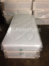 Fabric Beds with Coil Spring Firm Mattresses