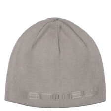 ANIMAL MENS BEANIE HAT.AGAS GREY LINED WINTER KNITTED ACRYLIC SKULLIE CAP 7W 2 F