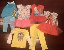 Disney Girls 2 Piece Girls Clothing Age 5-6 Mixed Lot Of 5