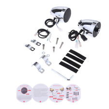 Bluetooth Motorrad Lautsprecher Wasserdicht Stereo Audio System AUX für Honda