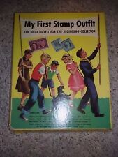 1965 Minkus My First Stamp Outfit + Stamp Collecting Guide