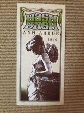 Mark Arminski 1996 Ann Arbor Hash Bash Handbill 25th Anniversary