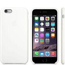 Original De Silicona Funda Para Apple Iphone 6 / 6s En Blanco