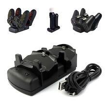 DOPPIA USB BASE PER RICARICA SUPPORTO ALIMENTATORE PER PLAYSTATION PS3 PS4 PRO