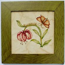 Theorem Painting by Noreens Paintings Horticultural  painting Grained Frame