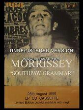 "Morrissey Souhpaw Grammar 16"" x 12"" Photo Repro Promo Poster"