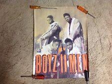 Boys To Men Promo Poster 24x18apx Cd Lp. new edition. vintage music r&b soul