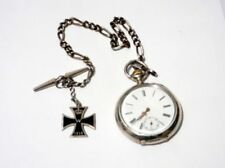 Analog Military Silver Pocket Watches