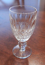 """WATERFORD CRYSTAL COLLEEN SHORT STEM PATTERN SHERRY GLASS (S) 4 1/8"""" TALL"""