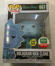 Funko Pop! Animation: Rick and Morty - Hologram Rick Clone (Glows in the...