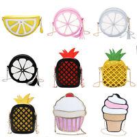 Cute Women Girls Fruit Shoulder Bag Tote Purse Messenger Crossbody Bag Handbag